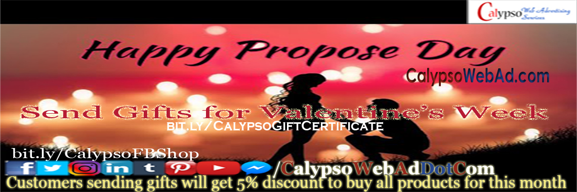 3. Happy Propose Day 2021
