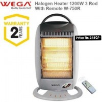 Wega Halogen Heater With Remote Control